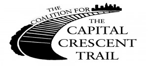 Logo for the Coalition for the Capital Crescent Trail
